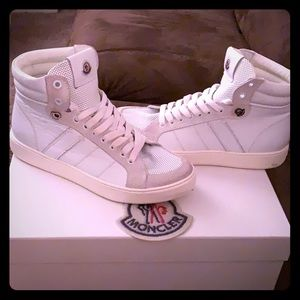 Moncler sneakers with box and dust bag ..